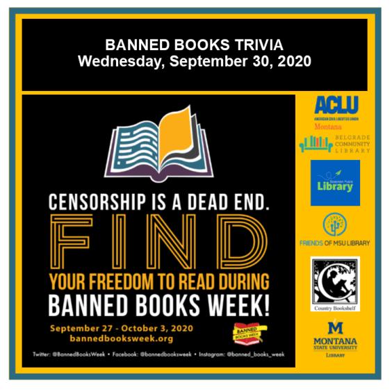 Banned Books Week Trivia September 30