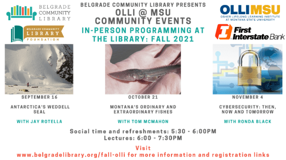 Next fall OLLI program October 21 at 5:30 PM