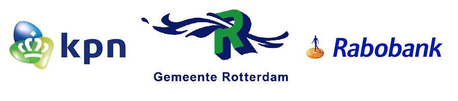 Logo, KPN, Gemeente Rotterdam, Rabobank