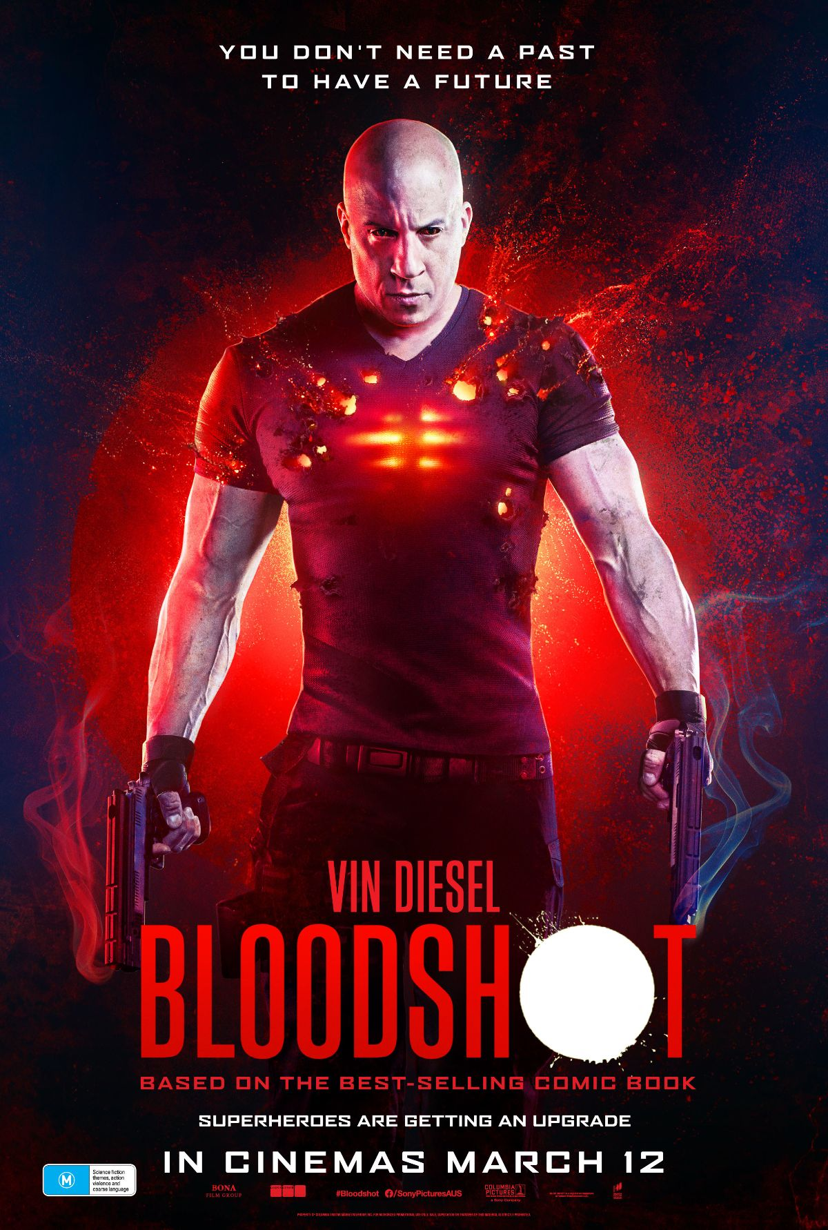 Win a double pass to see Bloodshot