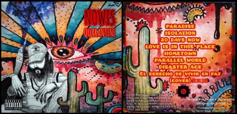 #CoverArt | Nowis - Quarantine by Trinidad Azul & Igor Barrenechea