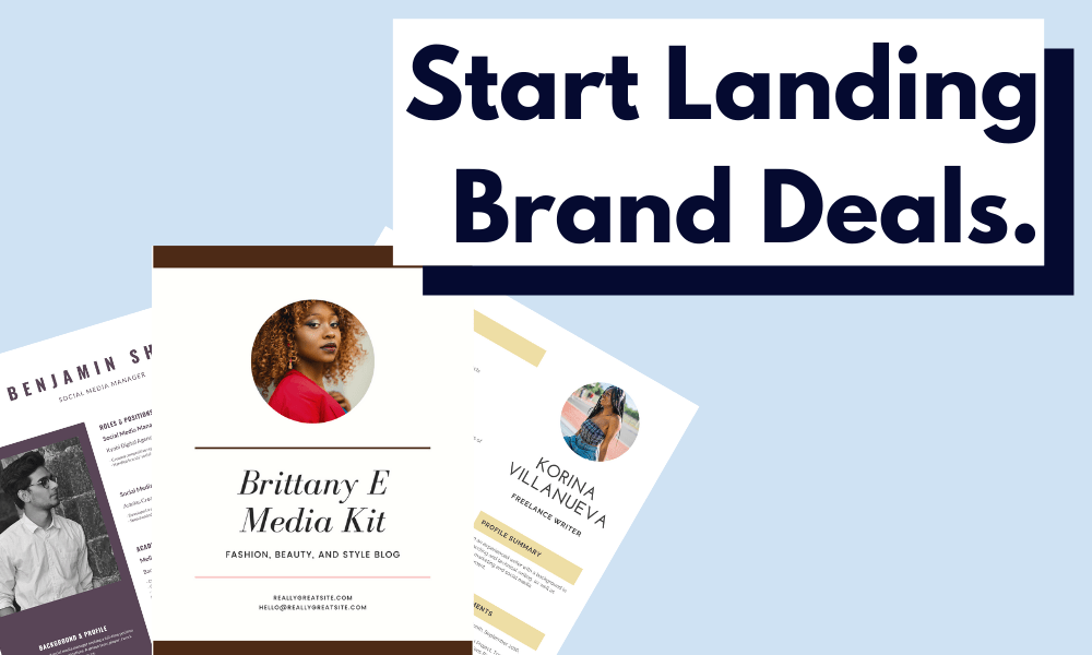 Want To Land Brand Deals?