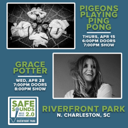 Pigeons Playing Ping Pong & Grace Potter
