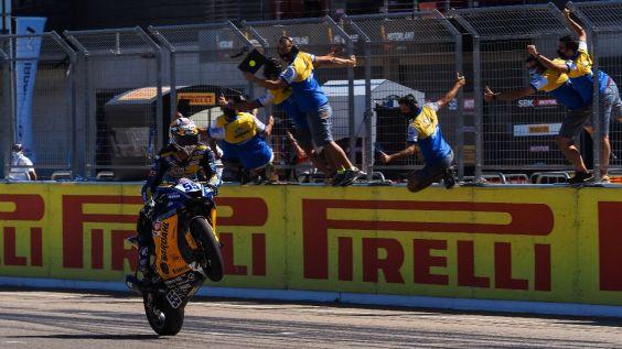 Andrea Locatelli wins again. Photo: WorldSBK