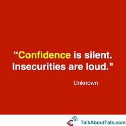 quote what is confidence