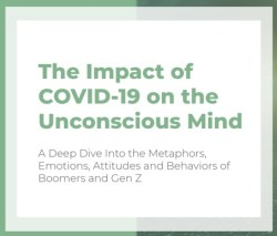 Inspired during COVID-19: Research on deep metaphors by Olson Zaltman