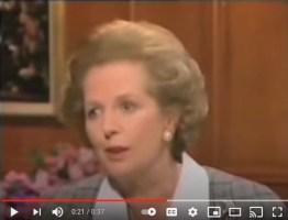 margaret Thatcher's voice