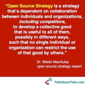 open source strategy definition