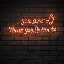 you are what you listen to image unsplash @ muhammedmetri