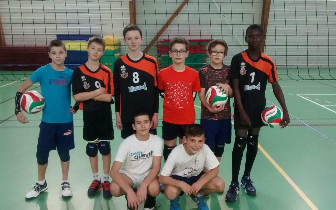 M13M en tournoi à Dieppe