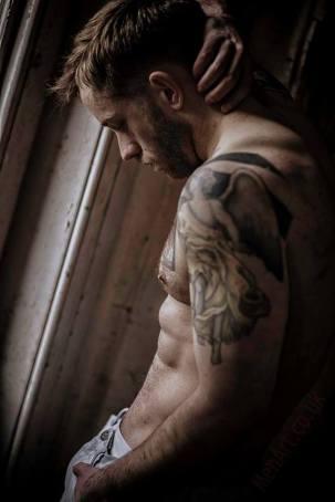 Alfie Stone fotografiado por Graham Martin