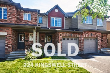 224 Kingswell Street town house in findlay creek sold listing