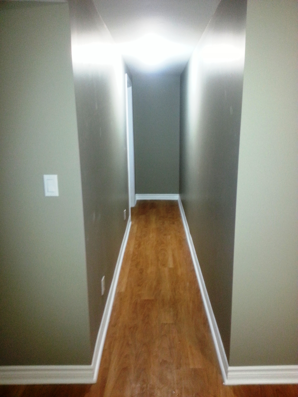1125 Aldea Avenue basement hallway