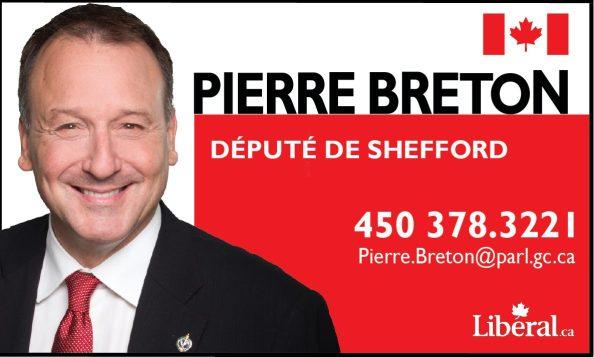 Pierre Breton député de Shefford