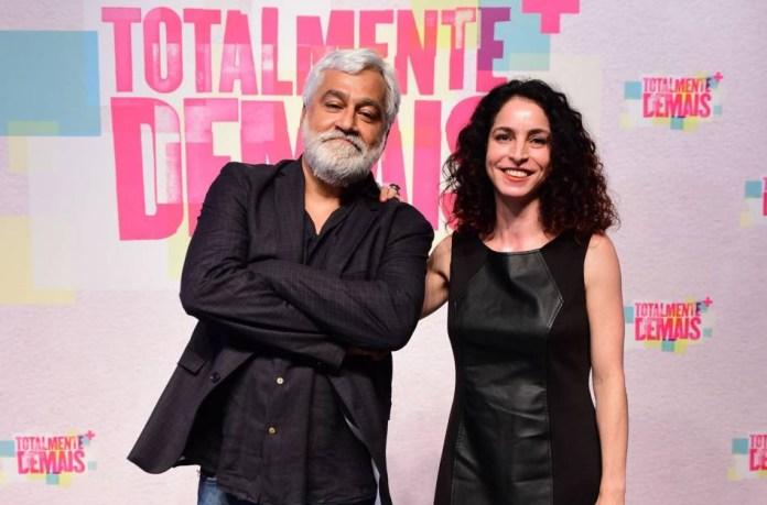 Paulo Halm e Rosane Svartman. (Foto: Divulgação)