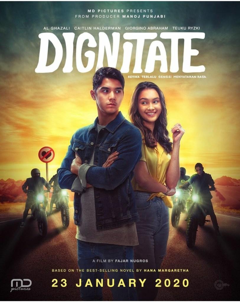 Poster Film Dignitate, Producer Manoj Punjabi, MD Pictures