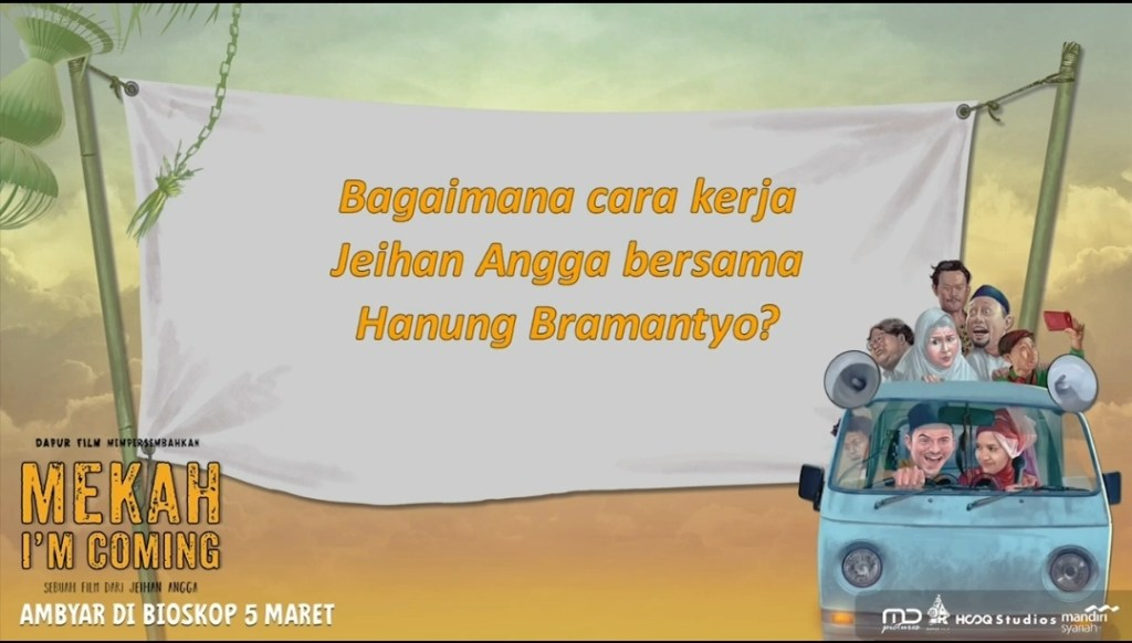 Bagaimana Cara Kerja Jeihan Angga Bersama Hanung Bramantyo?