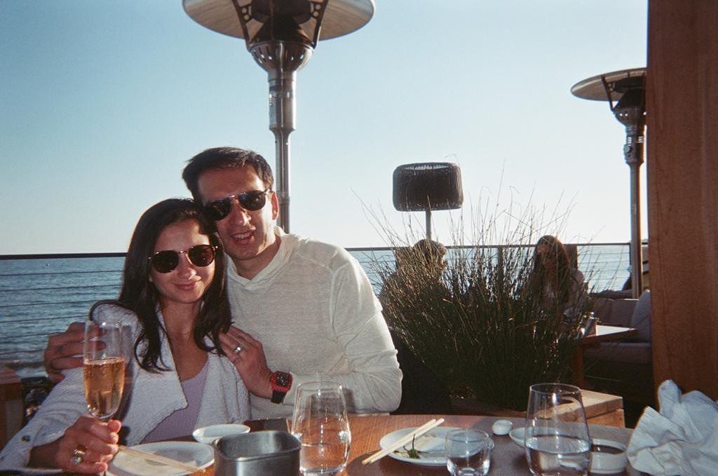 Manoj Punjabi dan Shania Punjabi kenangan di Malibu California Amerika