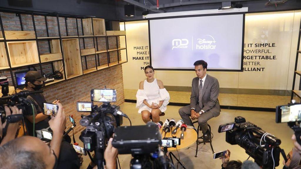 Press Conference MD Pictures x Disney Plus Bersama Manoj Punjabi dan Luna Maya