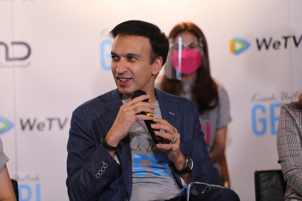 Press conference WeTV Original Kisah Untuk Geri bersama sutradara, dan pemain!
