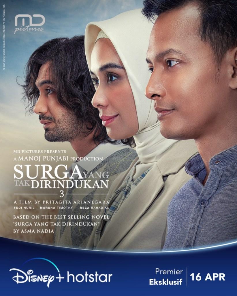 Poster & Trailer Film Surga Yang Tak Dirindukan 3