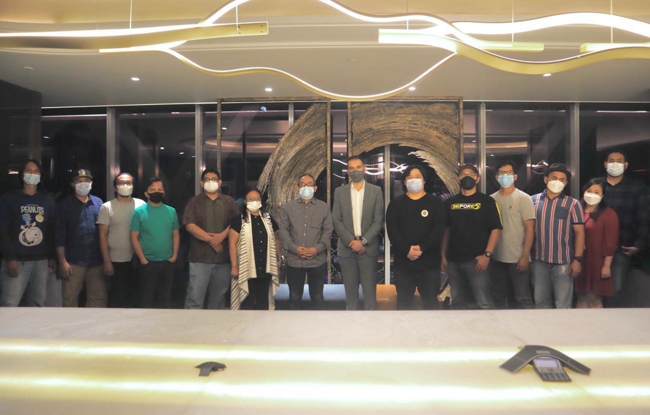 Buka puasa bersama team dari Tabloid Bintang