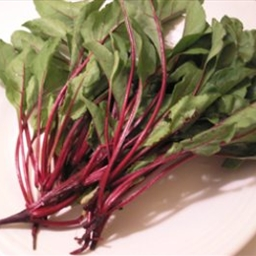 Herbed Baby Beets with Greens