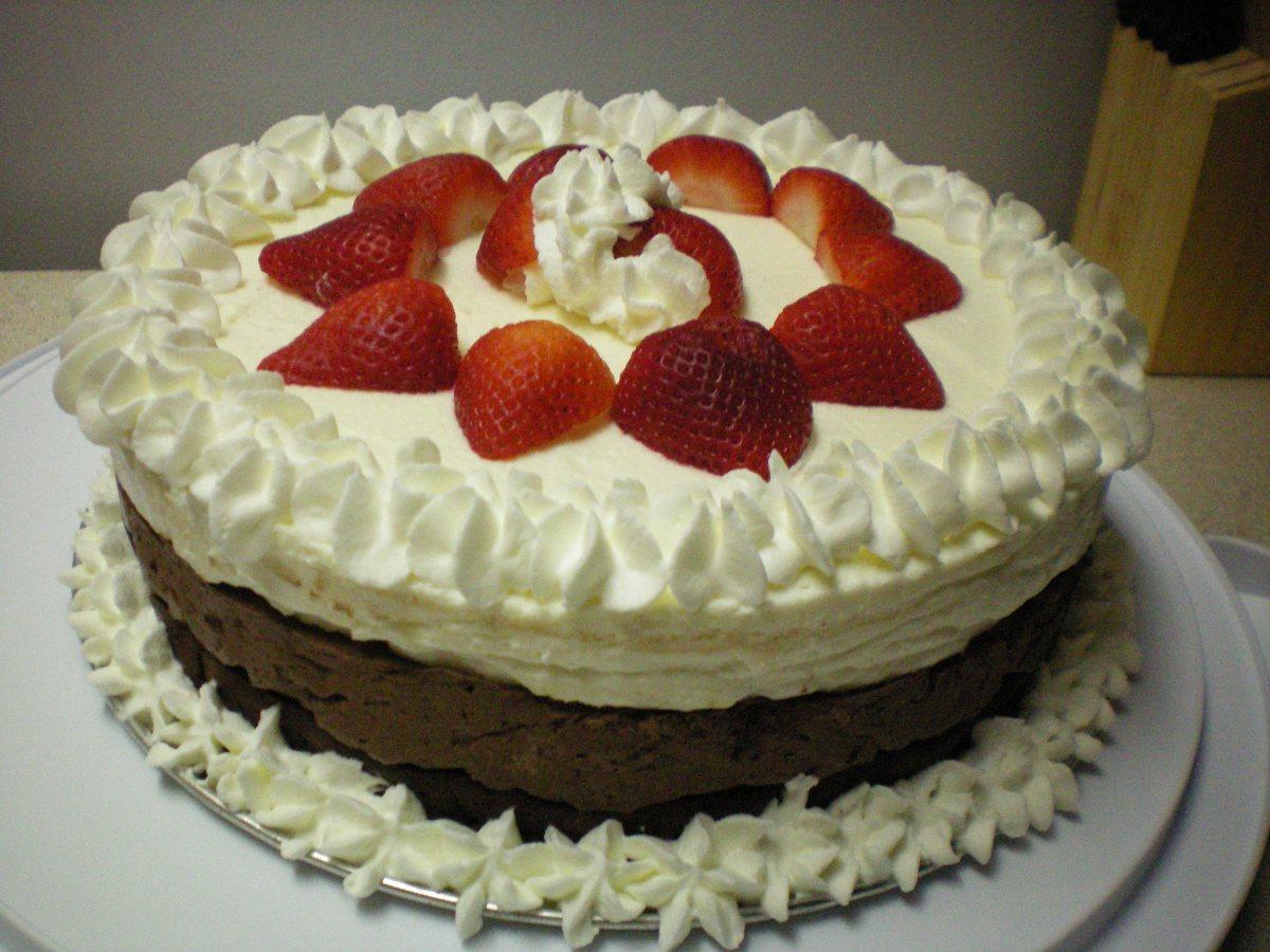Triple Choc Mousse Cake Recipe