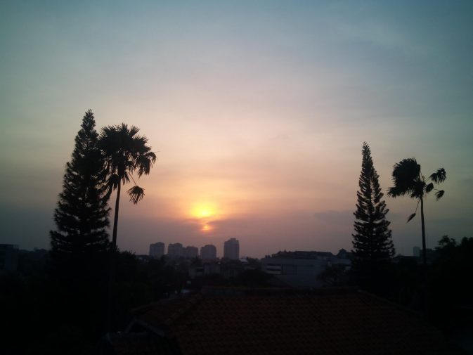 Senja Dunia Blogging