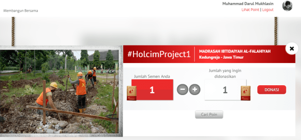 Donasi Holcim Project