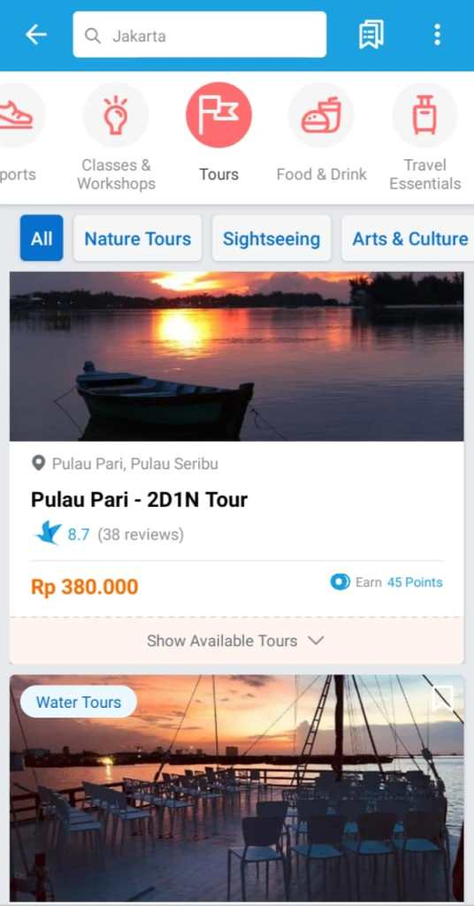Pulau Seribu Tour