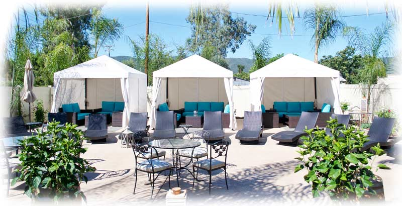Cabana Rental Murrieta Day Spa