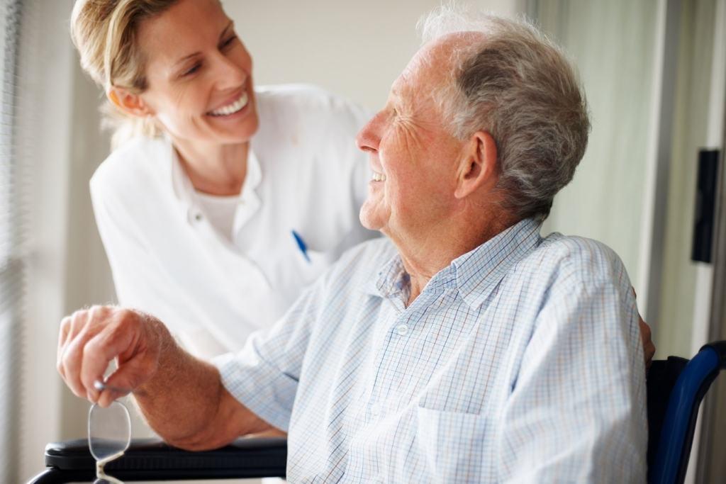 Uczestnik turnusu geriatrycznego