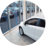 Car Showroom Window Cleaning