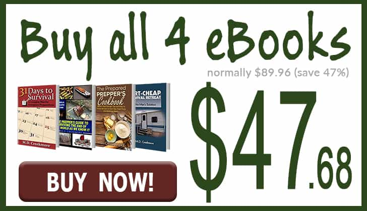 my homesteading and prepping ebooks