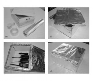 Simple and Effective Faraday Cage Construction
