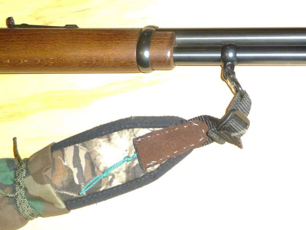 sling swivel on lever action rifle