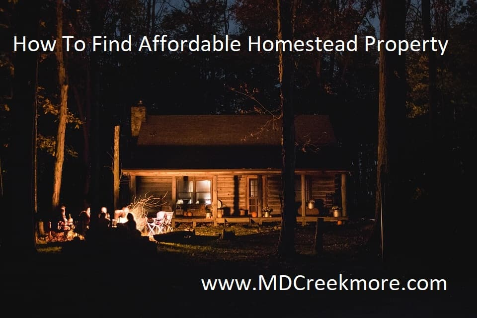 finding homestead property
