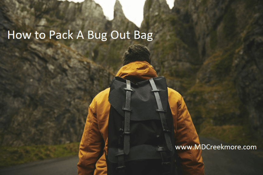 packing a bug out bag
