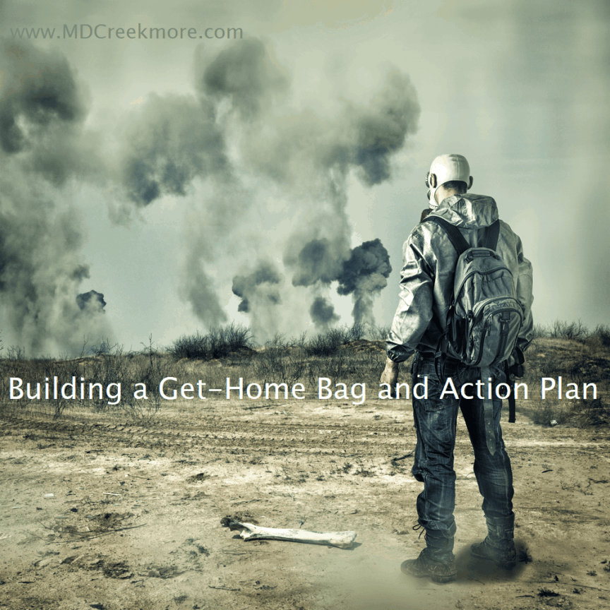 Building a Get-Home Bag and Action Plan