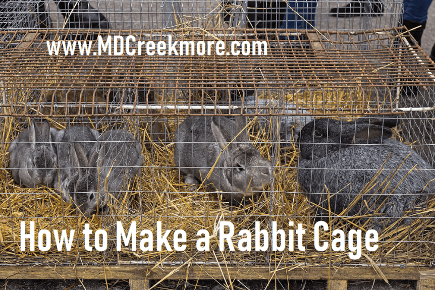 how to make a rabbit cage