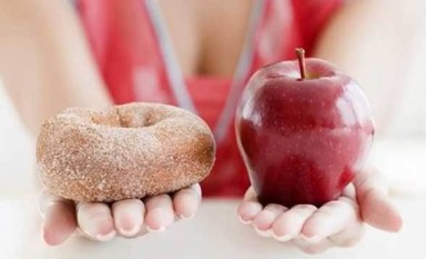 Apple or Donut