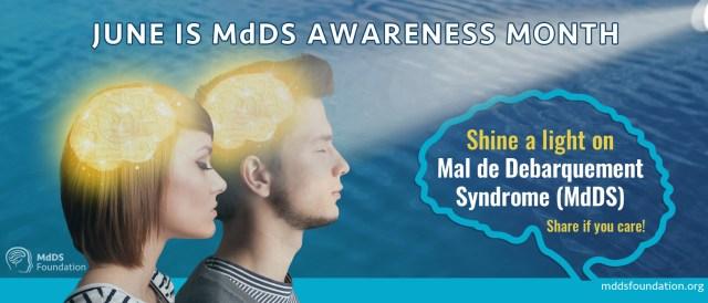 Skinne et lys på MdDS-banner