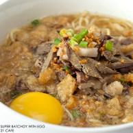 21 Restaurant Go Hotels Bacolod City Food Photography mdeguzman Photographer Negros Occidental Famous Super Batchoy with Egg