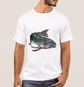MensSalmonTshirt