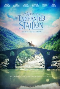 A twelve-year-old girl is transported by a magical black stallion to the mystical world of ALBION, where she discovers that she alone is the key to saving an entire race of people. source IMDb.