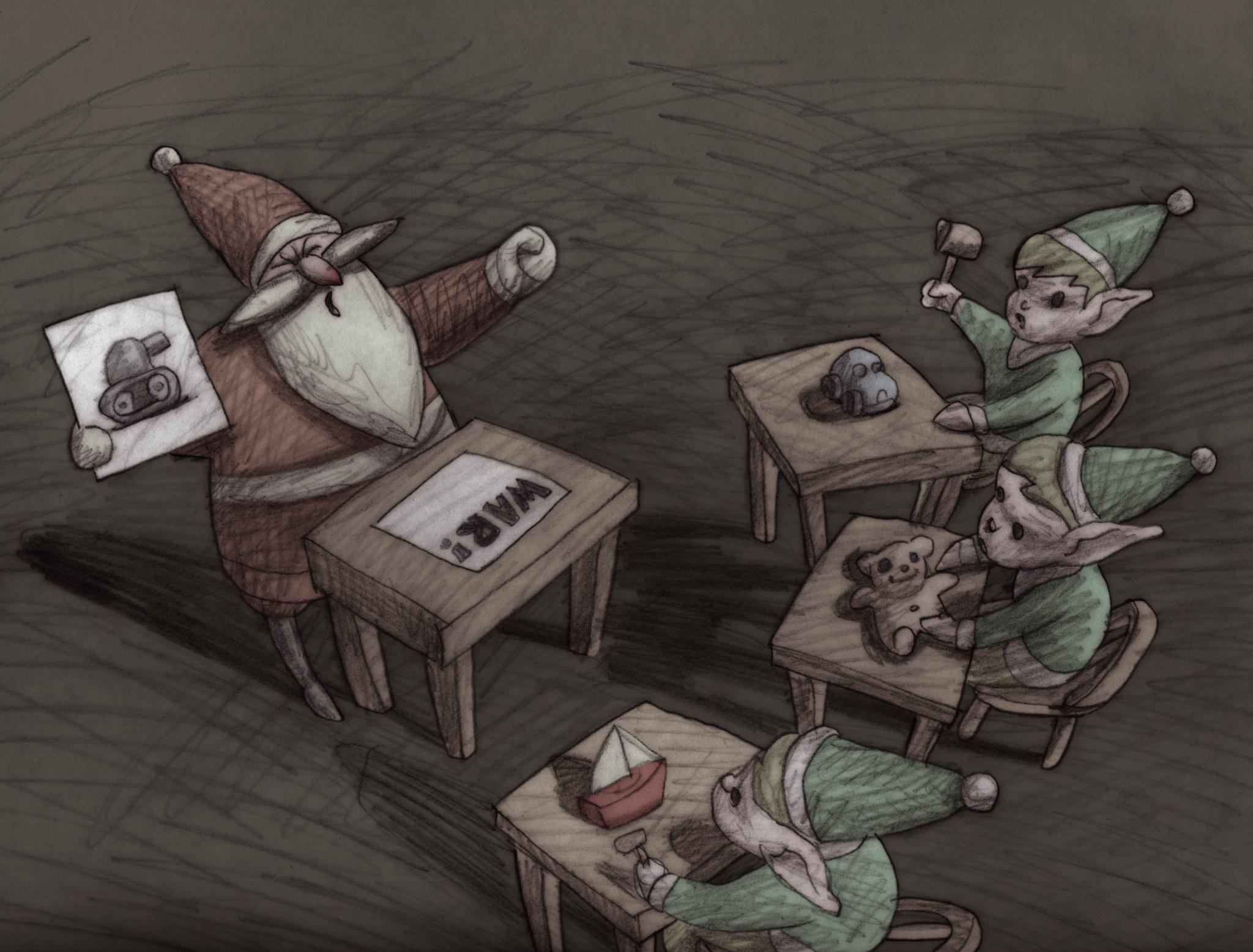 Santa: The Fascist Years