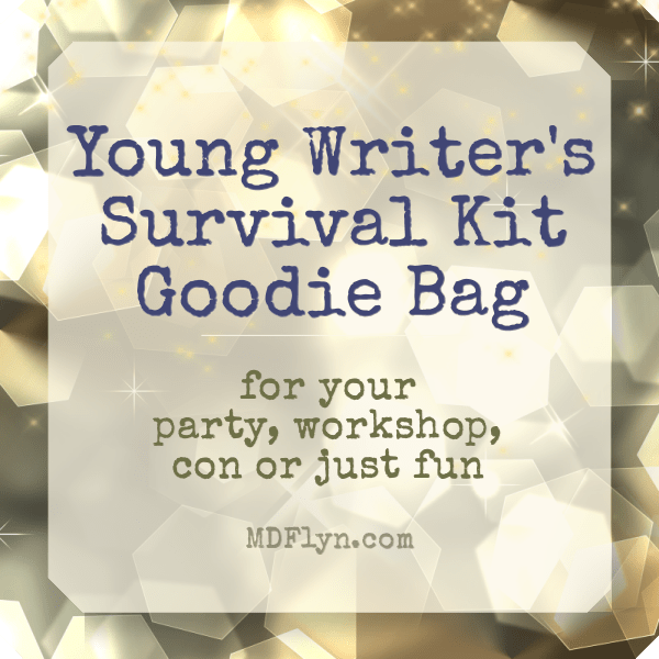 Young Writer's Survival Kit Goodie Bag