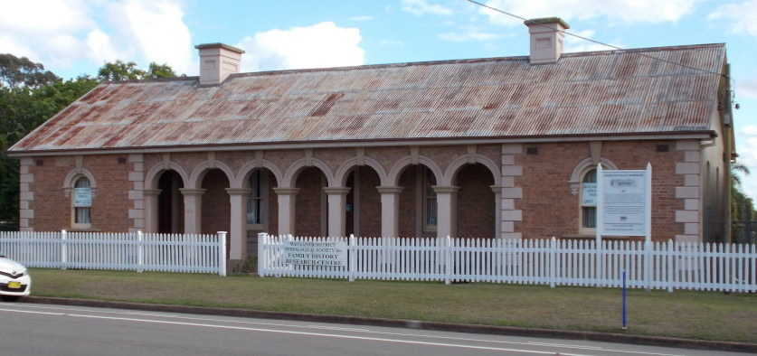 Maitland-district-genealogical-society-Old-Police-Barracks-East-Maitland