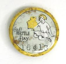 Wattle Day Badge, 1914-1919